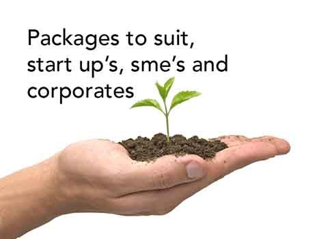 Packages for Start ups, SME & Corporate
