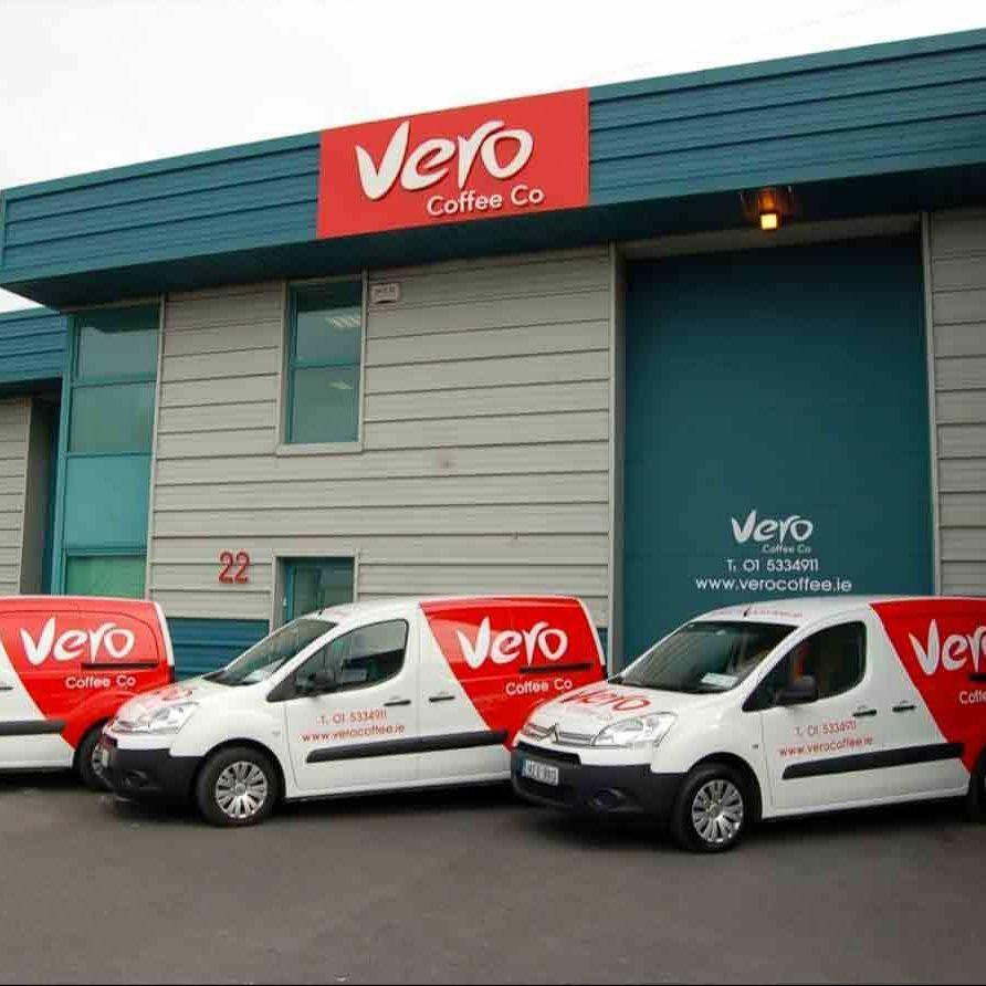 Vero coffee branding