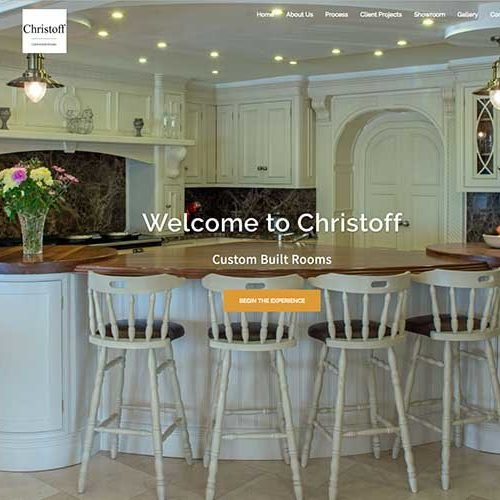web-design-for-a-kitchen-showroom