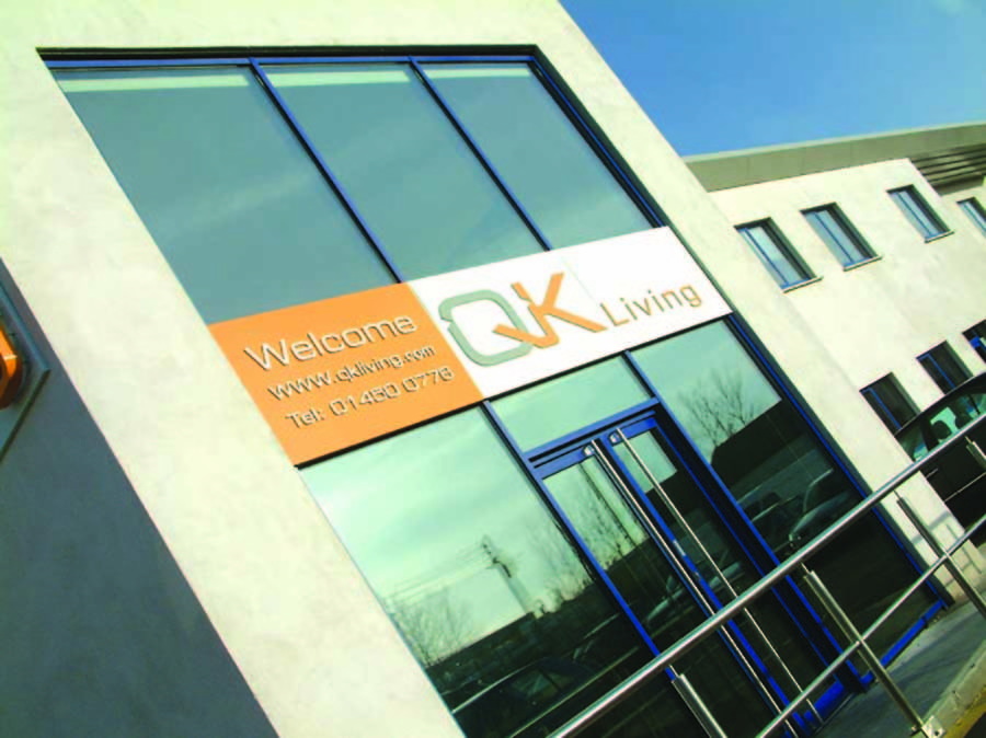 QK sign design dublin brandign desing project