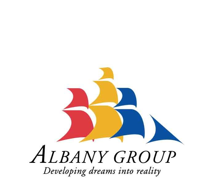 alabny group logo desing and branding