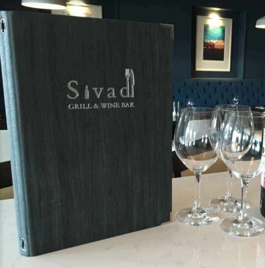 Sivad menu design