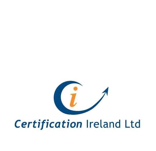 certificate ireland logo and branding