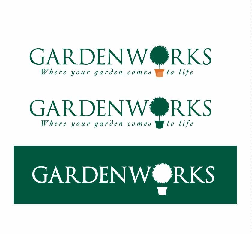 gardenworks logo design and branding