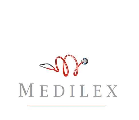 medilex logo design for south dublin medical comapny