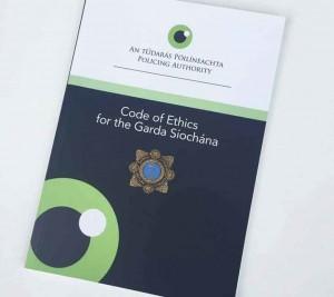 Garda Siochana code of ethics brochure