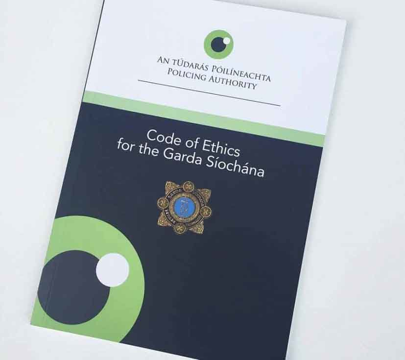 Garda Siochana code of ethics brochure