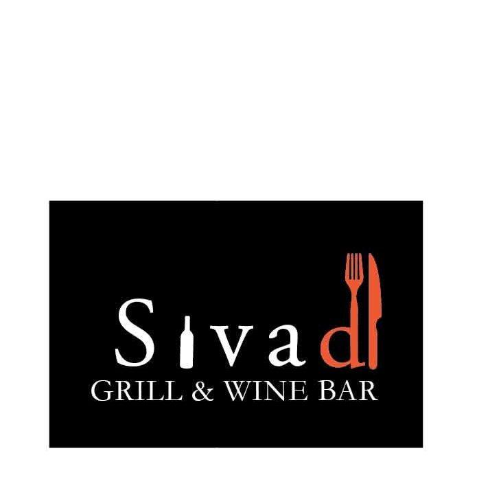 Sivad wien and bar Dublin logo design and branding