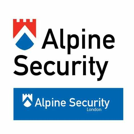 Alpine Security logo design