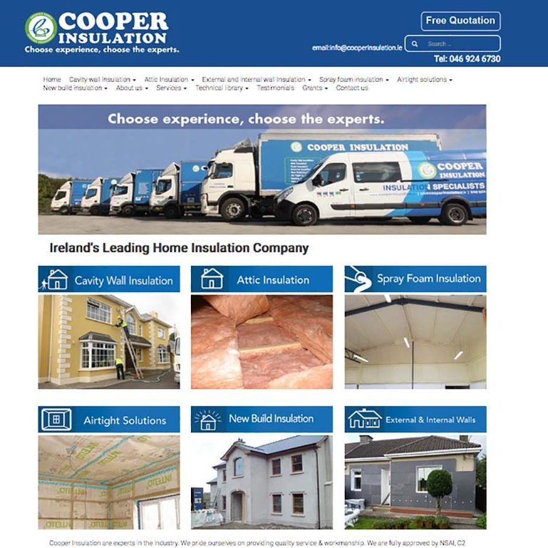 coopers insulation
