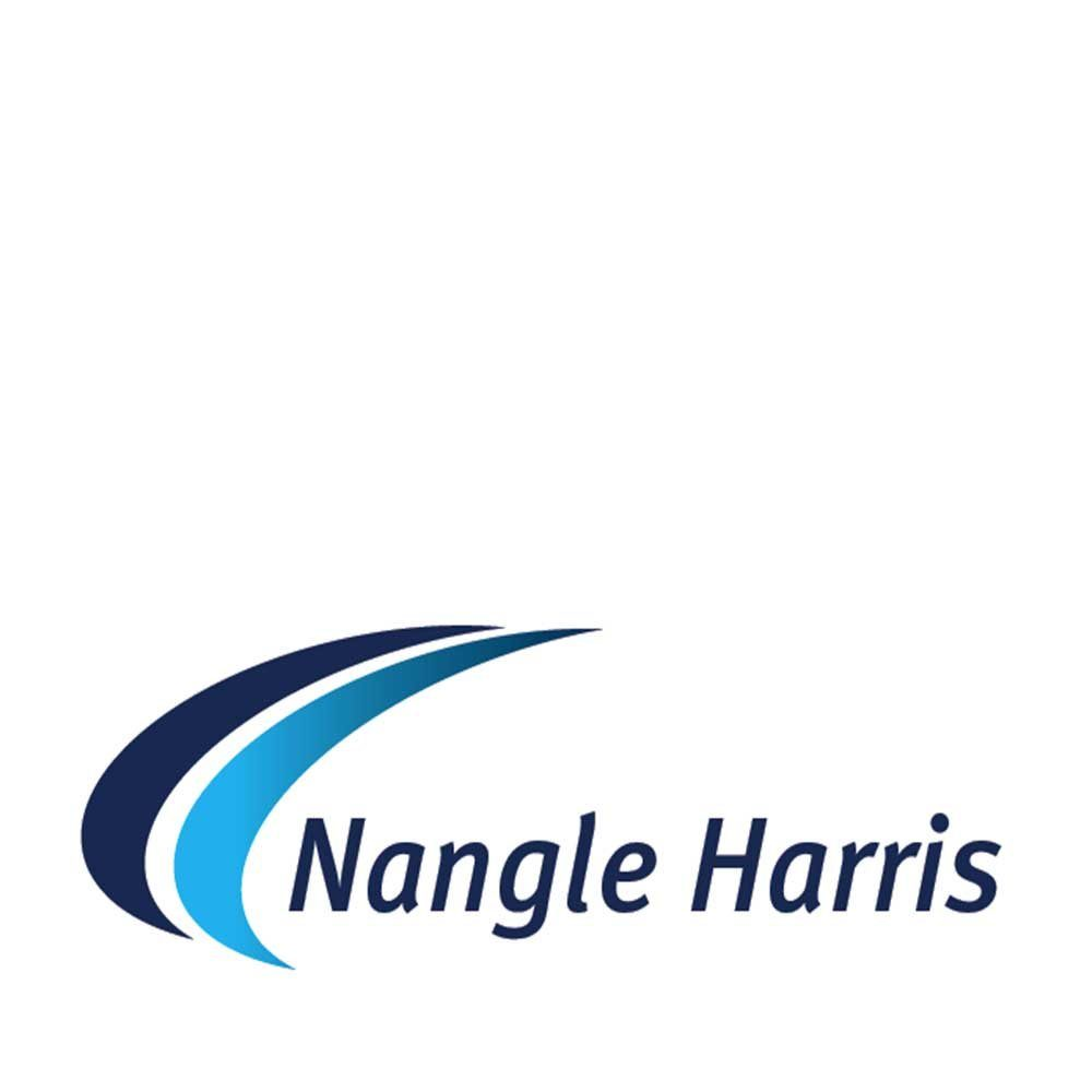 nangle harris logo and web design