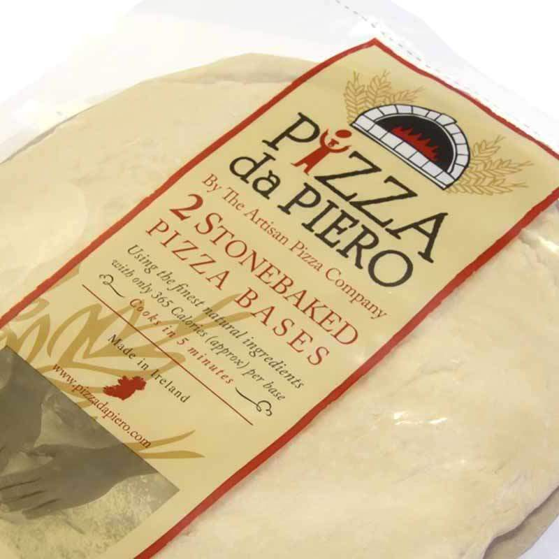 Pizza da Piero packaging