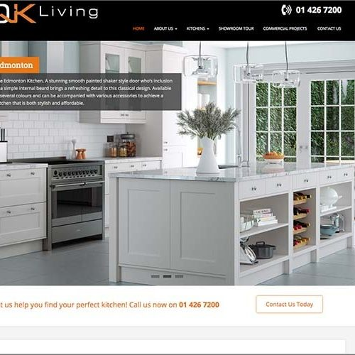 QK Living Web Design